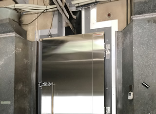 MO-SK型 懸肉用オーバーラップ防熱扉