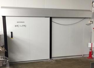 MS-A型 手動自閉式防熱扉 自動閉鎖式の省エネタイプ